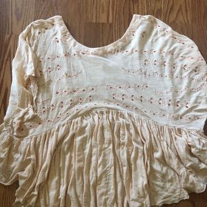 Free people boho top EUC